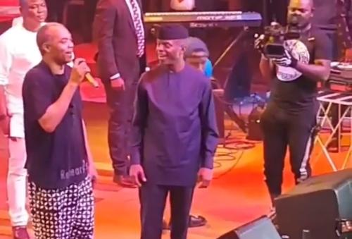 I won't support Buhari, Femi Kuti tells Osinbajo at Felabration