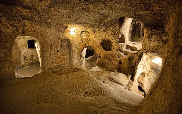 Οι εντυπωσιακές μυστηριώδεις υπόγειες πόλεις που «φιλοξένησαν» ανθρώπους ανά τους αιώνες (Φωτο)