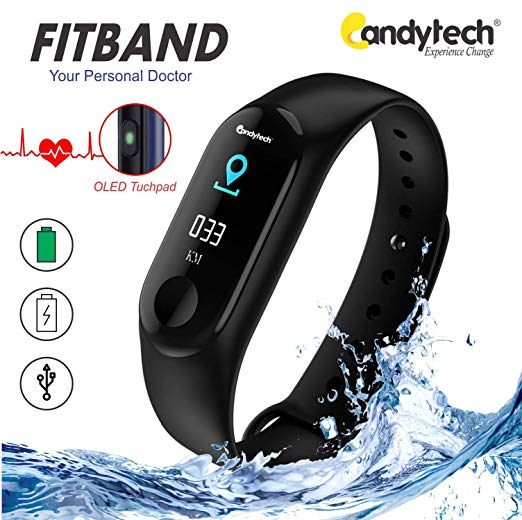 Consumer Electronics Hot Pop Mi Band 3 Oled Screen Smart Sports Oled Touch Screen Waterproof Heart Rate Bracelet Tracker Heart Rate Monitor Wearable Devices