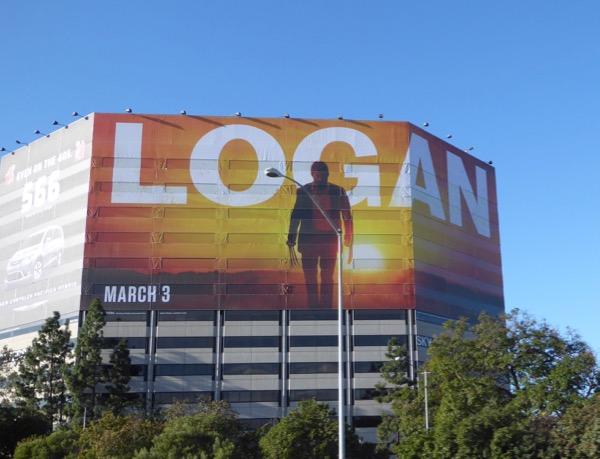 Logan movie teaser billboard