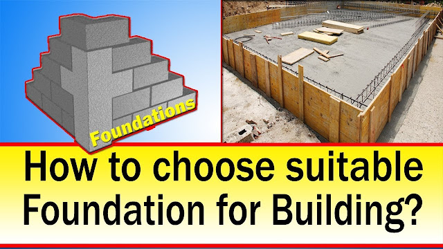 How to Choose Suitable Foundation for Building? Function of Foundation