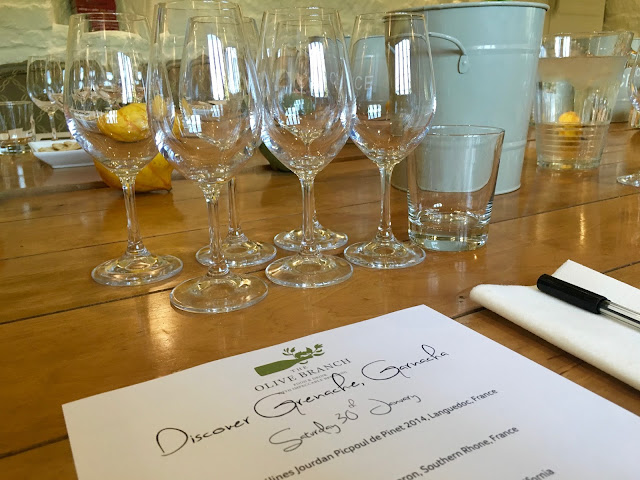 Discover Grenache at The Olive Branch, Clipsham