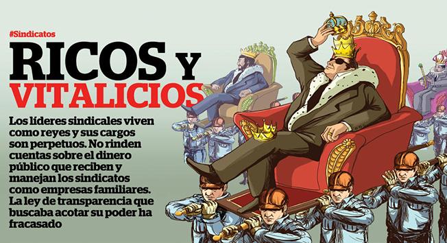 Resultado de imagen para sindicatos corruptos en mexico
