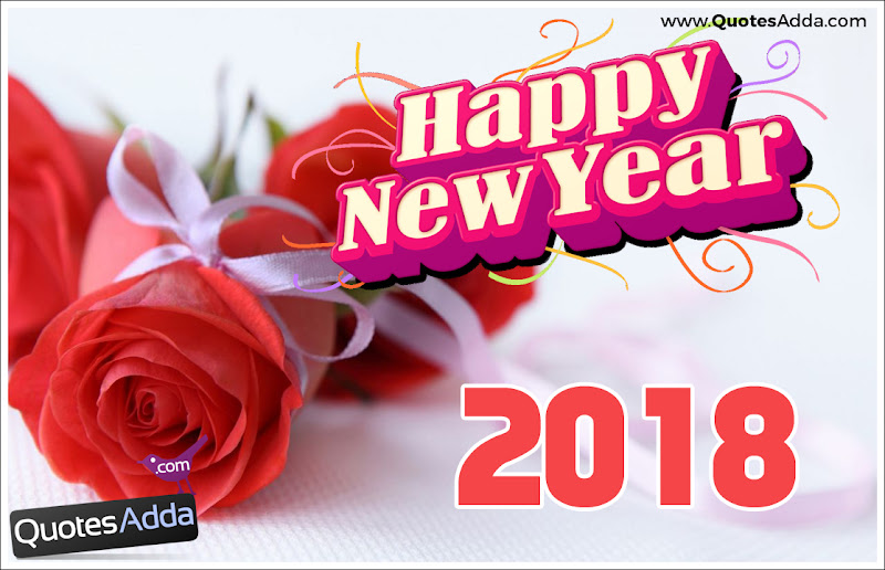 happy new year 2018 rose flower background here is 2018 happy new