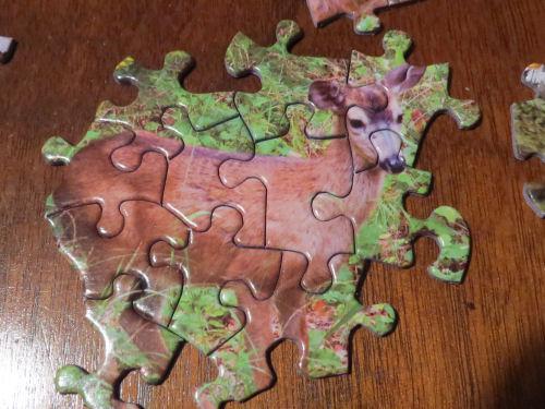 jigsaw puzzle deer