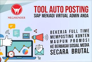 Tools auto post yang siap menjadi virtual admin media sosial para blogger