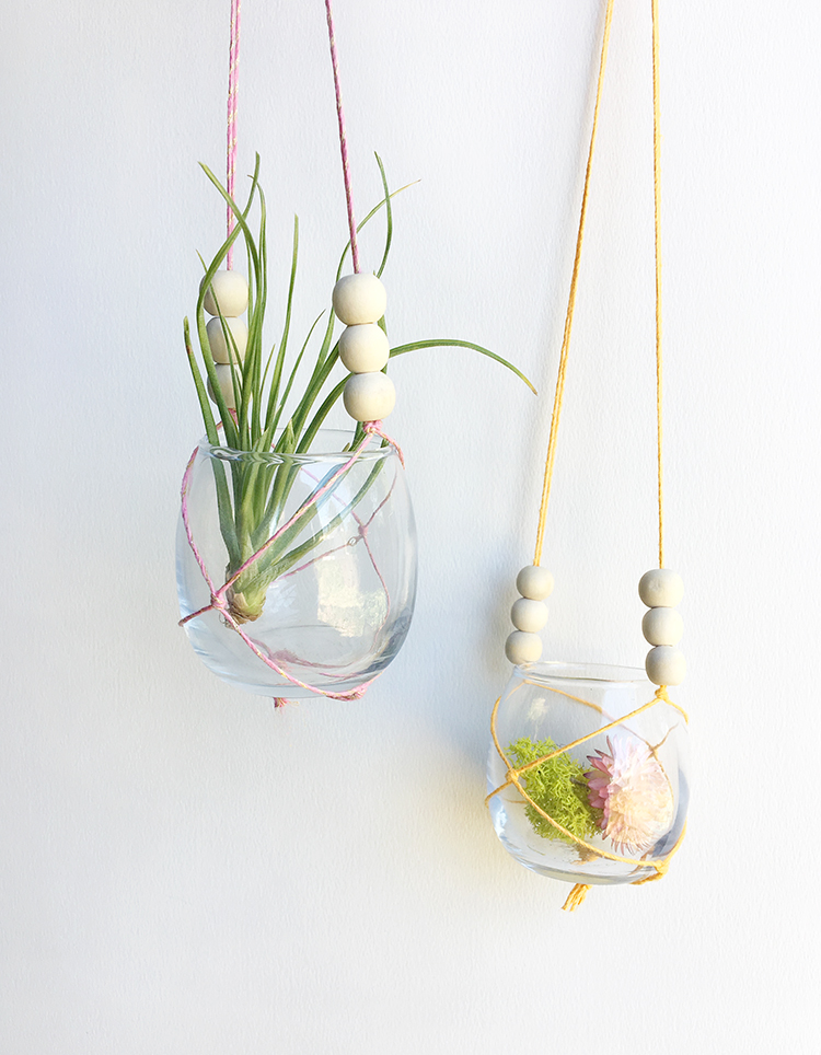 Collagepdx Diy Small Macrame Plant Hanger