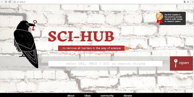 Con SCI-HUB e Libgen.pw descarga cualquier Artículos