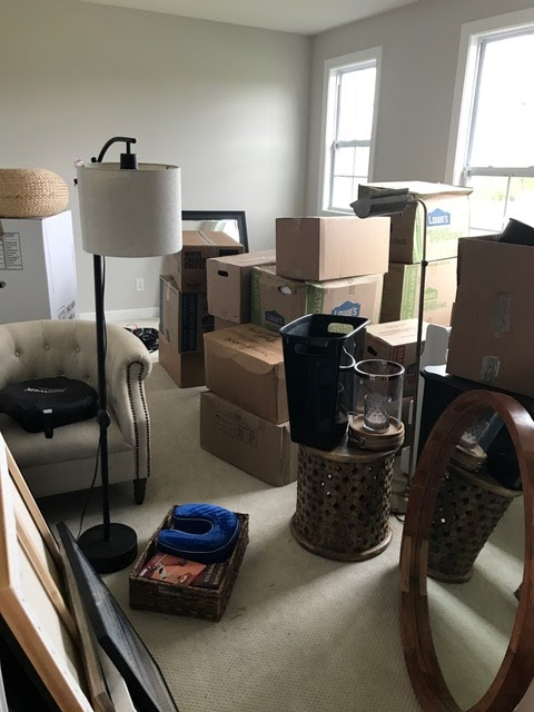 Dumping ground after move