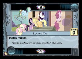 My Little Pony Locked Out Equestrian Odysseys CCG Card