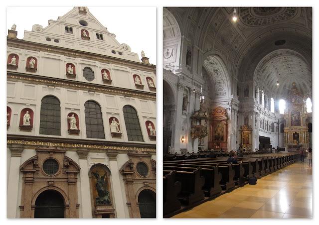 Michaelskirche - Igreja de São Miguel O que ver em Munique Alemanha