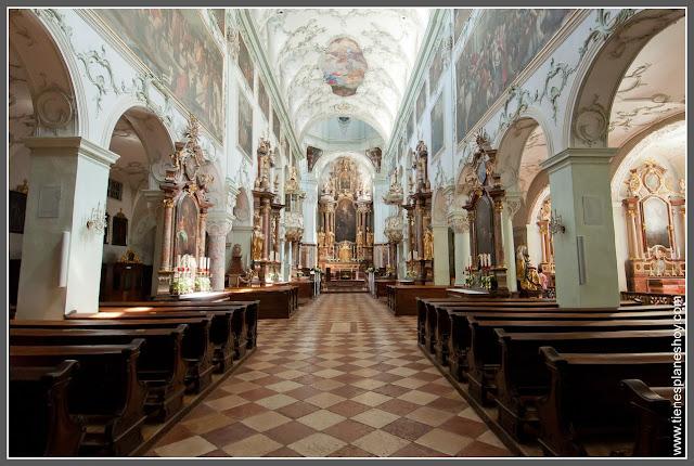 Salzburgo Stiftkirche St Peter