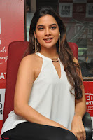 Tanya Hope in a whtie shirt and leggings at Song launch of Movie Patel Sir ~  Exclusive Celebrities Galleries 047.JPG