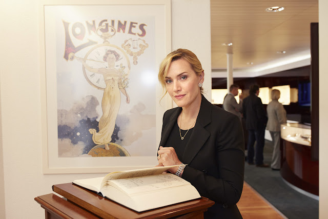 Longines welcomes Ambassador of Elegance Kate Winslet to Saint-Imier