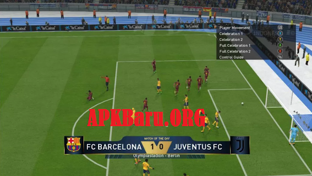 PES Jogress 2018 V3 Patch ISO PPSSPP + Save Data