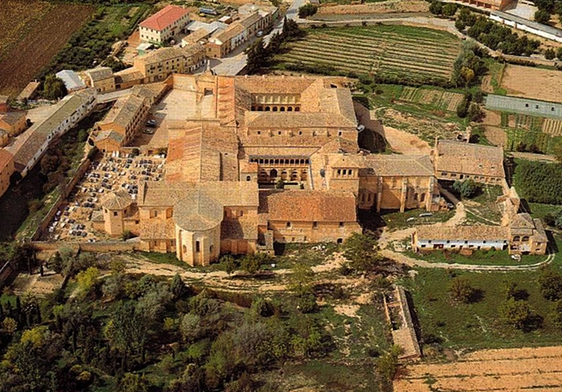 El monasterio de Santa María de Huerta en Soria
