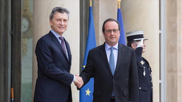"""Macri busca proyectarse como aliado de la UE tras el """"brexit"""""""