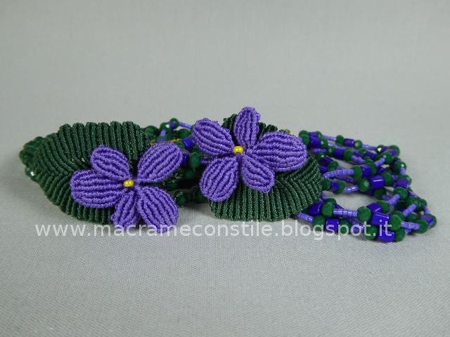 MACRAME violette