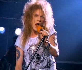 videos de los 80 welcome to the jungle guns and roses