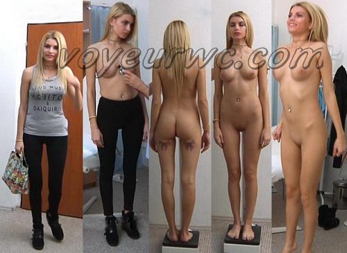 Gyno-clinic - Karina 25 years, 59.5 kgs, 180 cm (Gynecologic Exams)