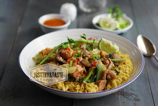 Resep Mi Siram Seafood