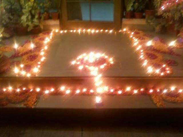 Kolam for Diwali 16