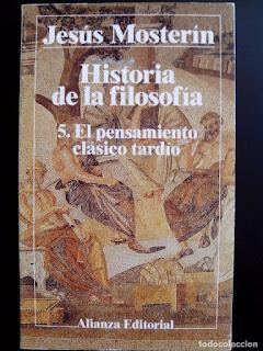 Historia de la filosofía / Jesús Mosterín