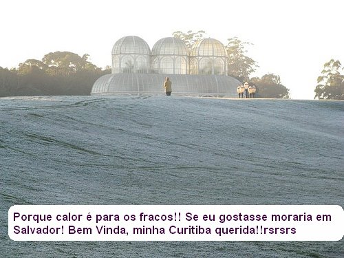 Clima de Curitiba