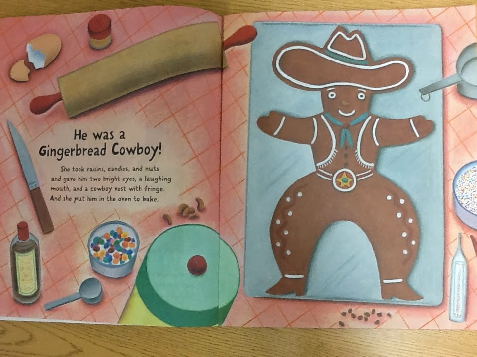 gingerbread cowboy read aloud