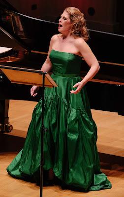 Sondra Radvanovsky at Rosenblatt Recitals at Cadogan Hall (photo Jonathan Rose)