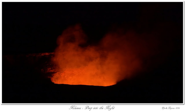 Kilauea: Deep into the Night