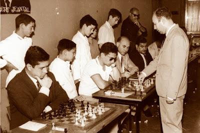 Simultáneas de ajedrez de Arturo Pomar, Tordera, 29 de julio de 1967