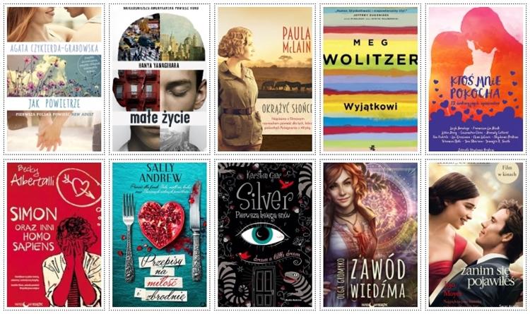 najlepsze książki na lato 2016