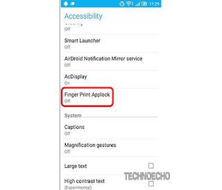 cara menciptakan sensor fingerprint di hp android Cara Membuat Sensor Fingerprint Di Hp Android