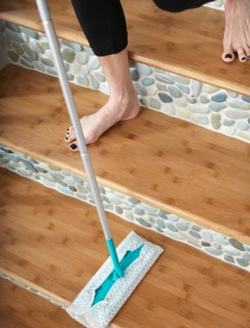 Can Devote For Cleaning And The Durability Of The Material New Home Ideas- Easy Applied Flooring For Clean