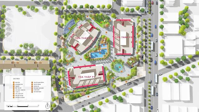 Mặt bằng thiết kế dự án Imperial Plaza