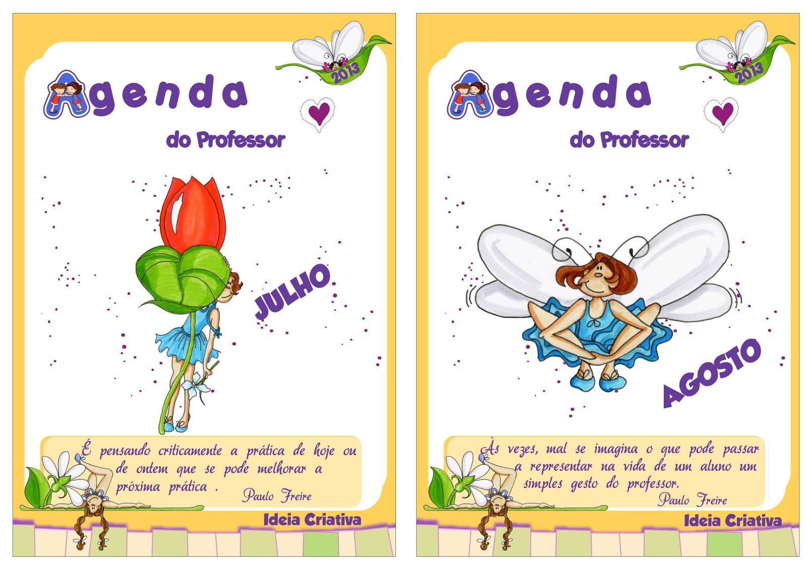Agenda Do Professor 2013 Ideia Criativa Para Ideia Criativa