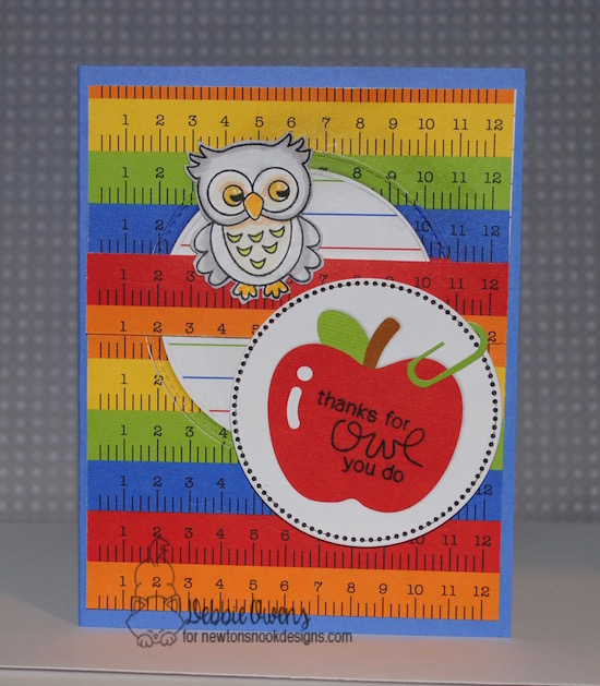 Thanks for owl you do by Debbie features What a Hoot by Newton's Nook, #newtonsnook