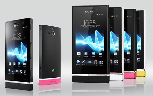 Sony Xperia U Specifications - LAUNCH Announced 2012, February DISPLAY Type TFT capacitive touchscreen, 16M colors Size 3.5 inches (~55.8% screen-to-body ratio) Resolution 480 x 854 pixels (~280 ppi pixel density) Multitouch Yes, up to 4 fingers Protection Scratch-resistant glass BODY Dimensions 112 x 54 x 12 mm (4.41 x 2.13 x 0.47 in) Weight 110 g (3.88 oz) PLATFORM OS Android OS, v2.3 (Gingerbread), upgradable to v4.0 (Ice Cream Sandwich) CPU Dual-core 1.0 GHz Cortex-A9 Chipset NovaThor U8500 GPU Mali-400 MEMORY Card slot No Internal 8 GB (4 GB user available), 512 MB RAM CAMERA Primary 5 MP, autofocus, LED flash Secondary VGA Features Geo-tagging, touch focus, face/smile detection, panorama Video 720p@30fps NETWORK Technology GSM / HSPA 2G bands GSM 850 / 900 / 1800 / 1900 3G bands HSDPA 900 / 2100 - ST25i  HSDPA 850 / 1900 / 2100 - ST25a Speed HSPA 14.4/5.76 Mbps GPRS Yes EDGE Yes COMMS WLAN Wi-Fi 802.11 b/g/n, hotspot, DLNA GPS Yes, with A-GPS USB microUSB v2.0, USB Host Radio Stereo FM radio, RDS Bluetooth v2.1, A2DP, EDR FEATURES Sensors Sensors Accelerometer, proximity, compass Messaging SMS (threaded view), MMS, Email, IM, Push Email Browser HTML5, Adobe Flash Java Yes, via Java MIDP emulator SOUND Alert types Vibration; MP3, WAV ringtones Loudspeaker Yes 3.5mm jack Yes  - Sony 3D surround sound audio  BATTERY  Removable Li-Ion 1320 mAh battery Stand-by Stand-by Up to 260 h (2G) / Up to 472 h (3G)  Talk time Up to 6 h 36 min (2G) / Up to 5 h 36 min (3G) Music play Up to 45 h MISC Colors Black, White/ exchangeable bottom caps in white, black, pink, yellow SAR US 1.62 W/kg (head)      - Sony Mobile BRAVIA Engine - Timescape UI - Active noise cancellation with dedicated mic - MP4/H.264/WMV player - MP3/eAAC+/WMA/WAV player - Organizer - Document viewer - Voice memo/dial/commands - Predictive text input