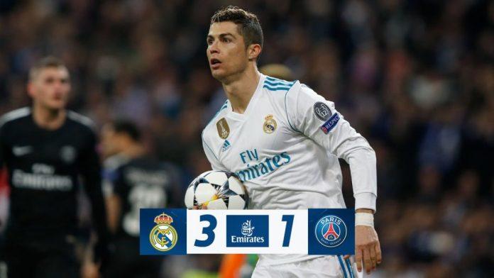 DOWNLOAD VIDEO: Real Madrid vs PSG 3-1 – Highlights & Goals