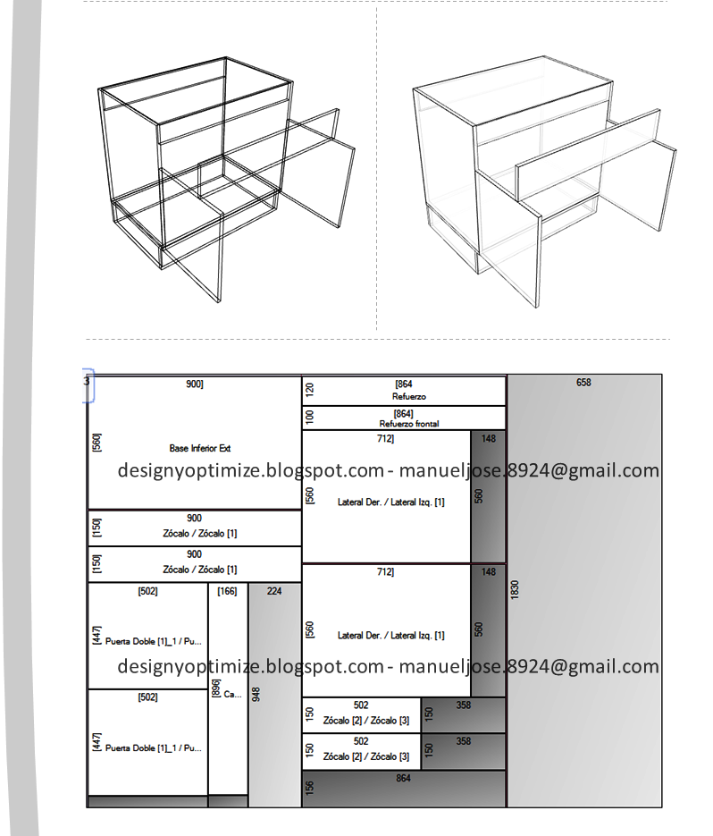 dise o de muebles madera mueble para fregadero