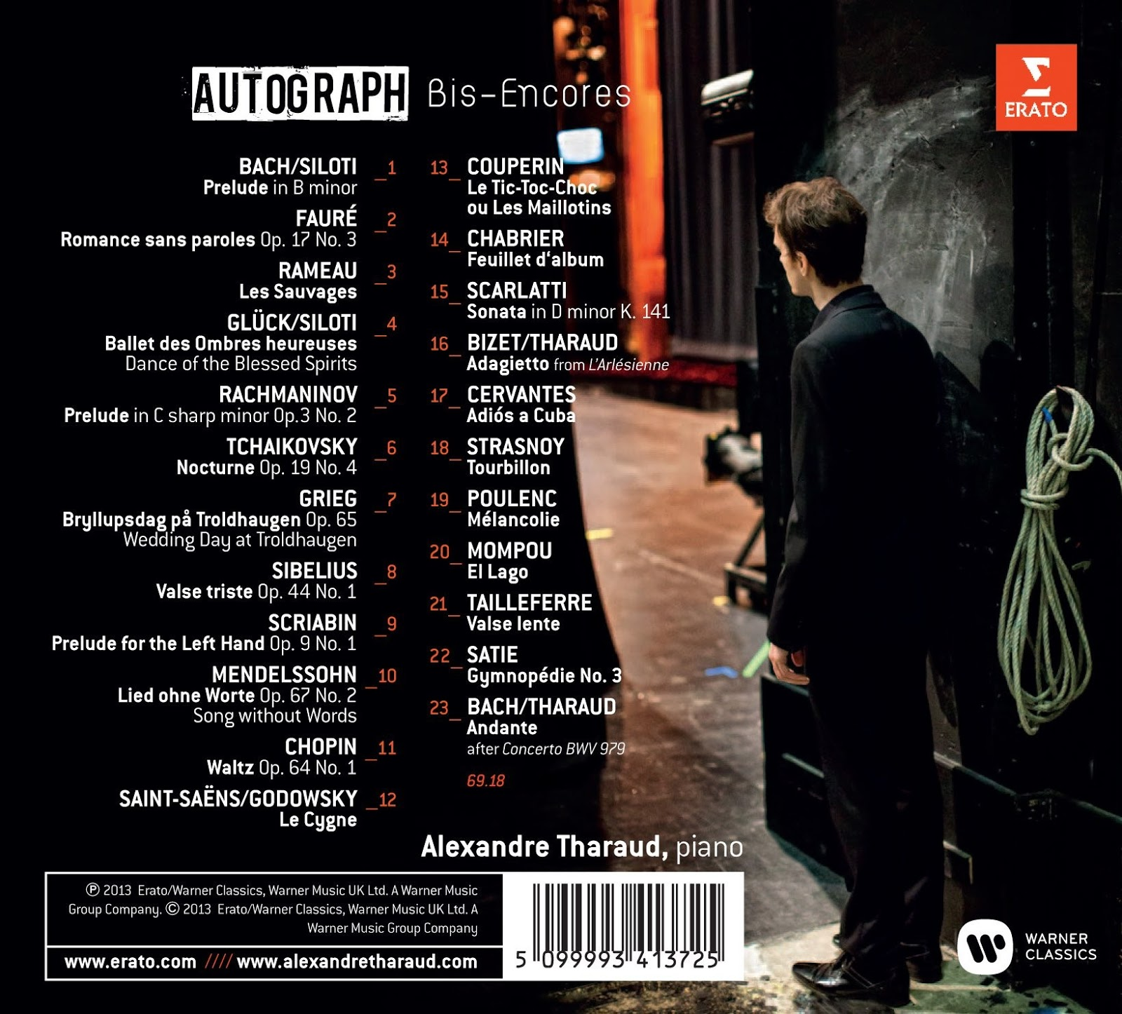 Scarlatti: Piano Sonatas / Tharaud - Warner Classics ...