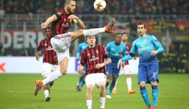 Prediksi Arsenal vs AC Milan Liga Eropa