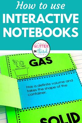 interactive notebook ideas pin