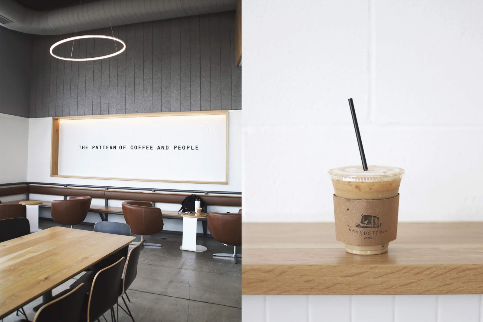 Houndstooth Coffee Austin, Iced Coffee, Cozy Coffee Shop, Coffee Shops Vibe
