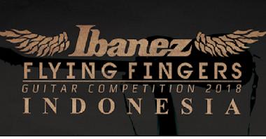 Ibanez Flying Fingers 2018  Kembali Digelar