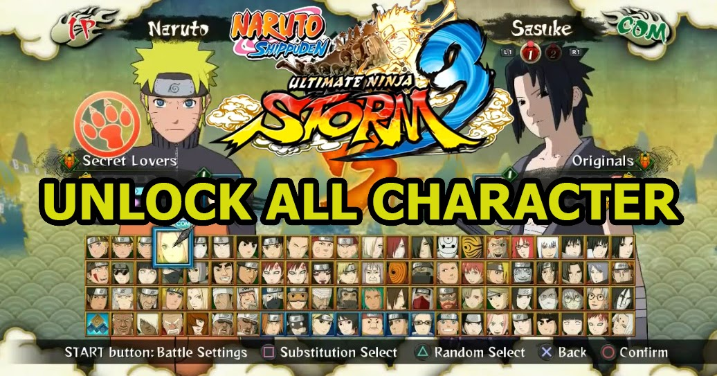 naruto zip file for ppsspp