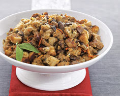 SAUSAGE AND MUSHROOM SOURDOUGH STUFFING