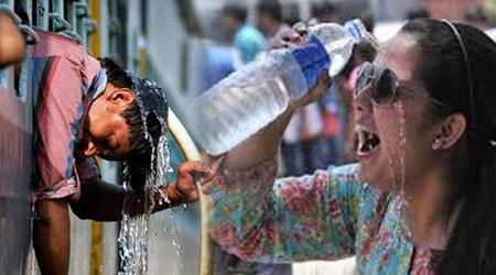 INDIA के 7 राज्य लू की चपेट में, 16 राज्य गर्मी से झुलसे, 2 मौतें