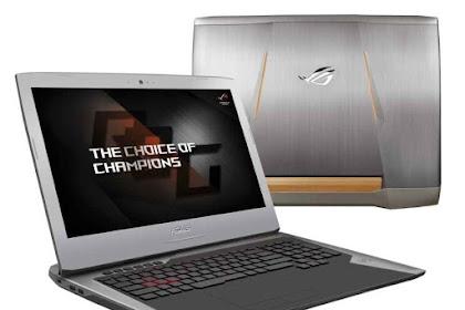 Laptop Gaming Terbaru ASUS ROG G752 Mesin Game Paling Sempurna Terbaik 2016